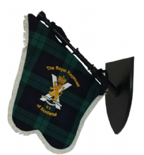 Bagpipe Pipe Banner - Royal Regiment of Scotland